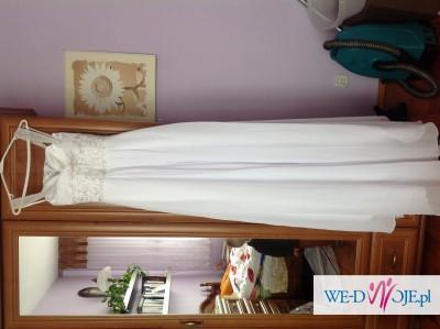Nieuzywana Suknia slubna z szyfonu