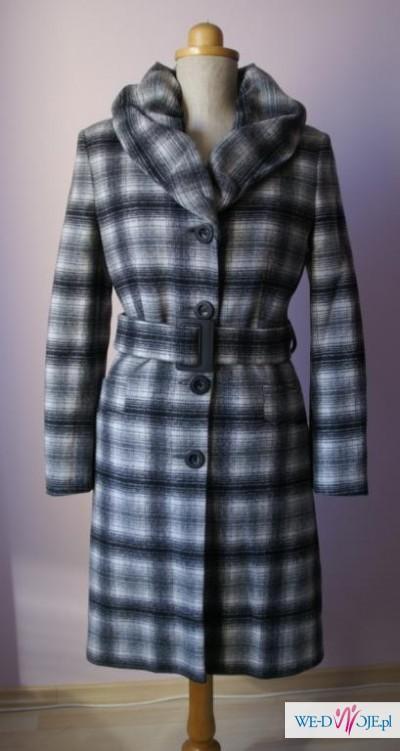 Nowy płaszcz, wełna, rozmiar S, super!!!!!!!!!!!!!
