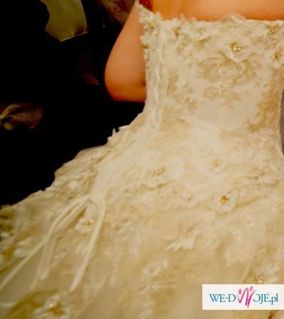 Okazja! Suknia Ślubna Agora- Swarovski Elements