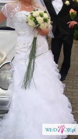 Piękna i niepowtarzalna suknia ślubna!