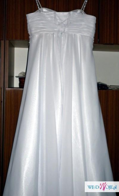 Piękna suknia dla szczupłej