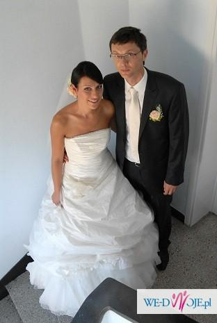 Piekna Suknia FARAGE - 600 zł OKAZJA