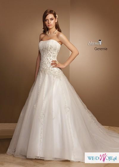 Piękna suknia  marki Herm's, model Geremia.
