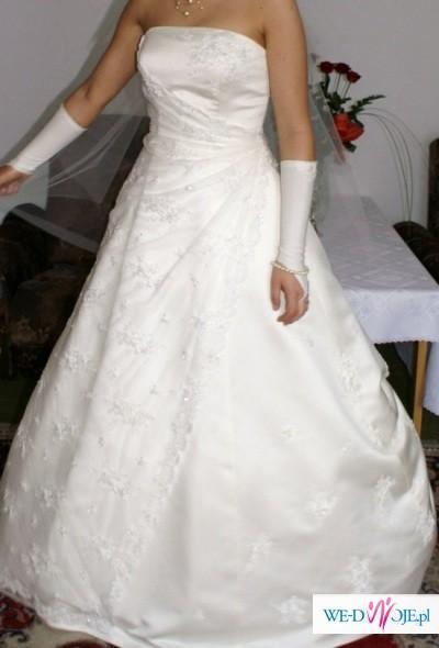Piękna suknia slubna