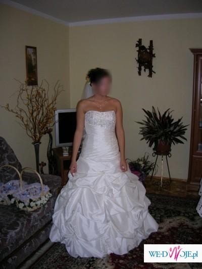 Piękna suknia ślubna ASINA