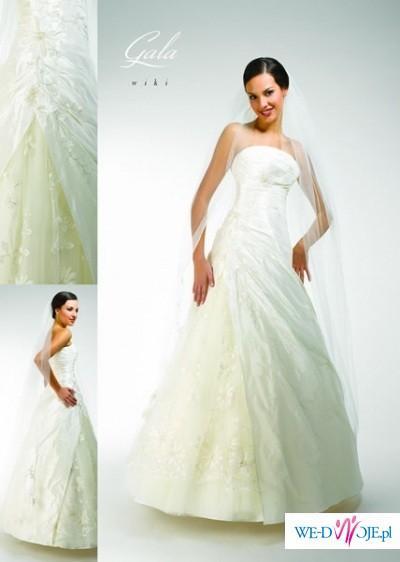 Piękna Suknia ślubna Firmy Gala Model Wiki Suknie ślubne