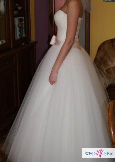 Piękna suknia ślubna firmy MAXIMA 2013