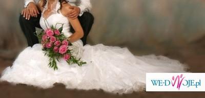 Piekna Suknia Ślubna KARINA rozm.36 wzrost 167