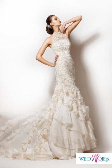Piękna Suknia Ślubna w stylu hiszpańskim