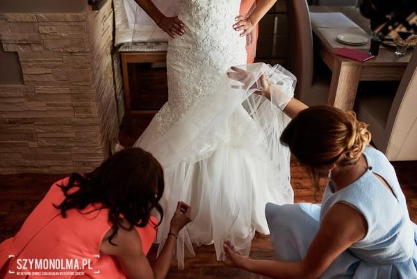 !! Piękna Suknia Syrenka Jedyna !!