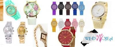 Piękne zegarki w atrakcyjnych niskich cenach