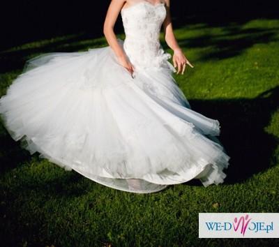 b62c9612d4 Przepiękna SUKNIA ślubna Carmen