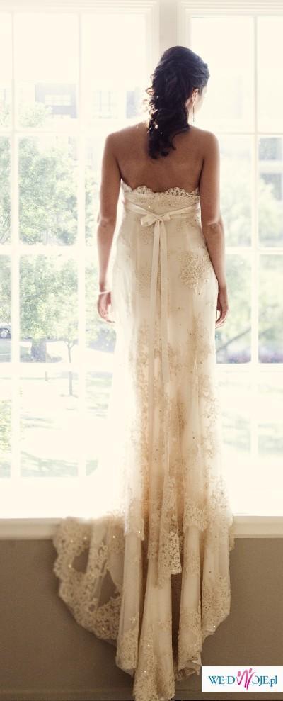PRZEPIĘKNA suknia ślubna Cymbeline Agadir GRATIS