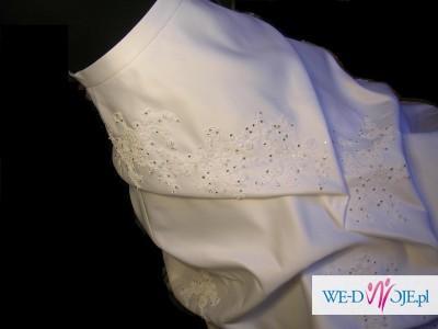 przepiękna suknia ślubna dla księżniczki jak nowa OKAZJA!!!
