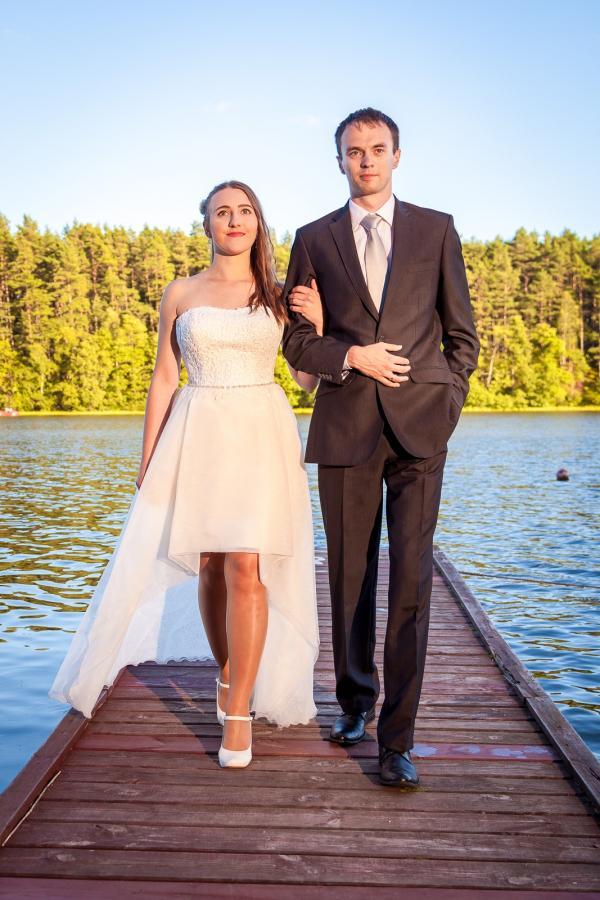 Przepiękna suknia stopniowana Elizabeth Passion (długa/krótka)