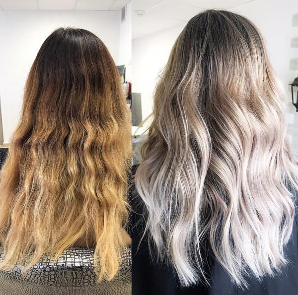 Rozjaśnianie włosów w domu