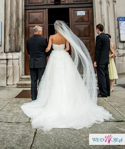 Śliczna i oryginalna sukienka ślubna La Sposa Mistela 2013