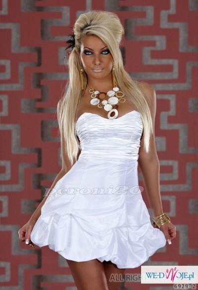 96a1b277fc2a67 sliczna sukienka bombka wesele slub elegancka!! 36 - Suknie ślubne ...