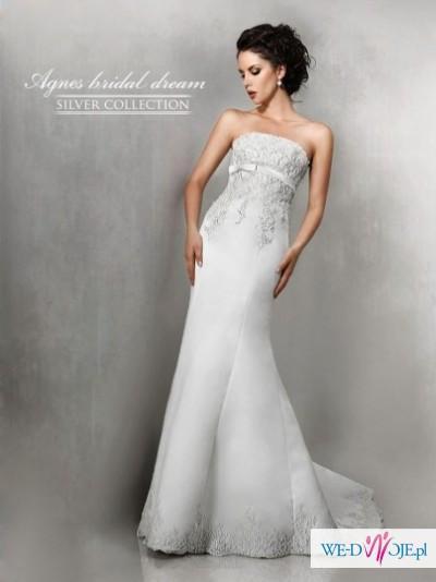 Śliczna suknia firmy Agnes10226