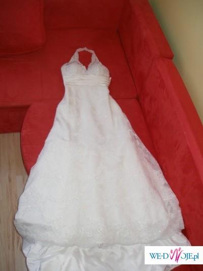 Śliczna suknie sprzedam okazja