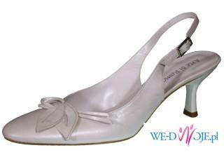 Śliczne buty slubne