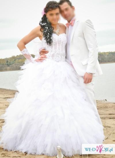 ślub ubiór dla pary młodej