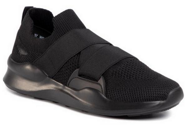 czarne sneakersy z CCC