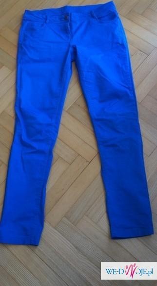 Spodnie Pimkie modny kolor chabrowy 40