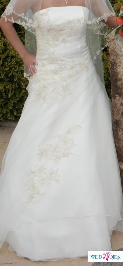 872c37e594 Sprzdam cudną suknię ślubną - Suknie ślubne - Zdjęcie 1 - Ogłoszenie ...