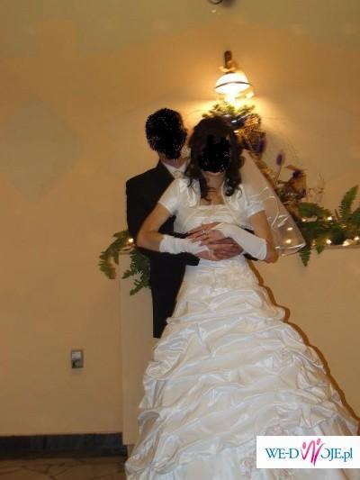 sprzedam bielutką suknię ślubną