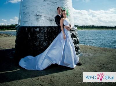 Sprzedam delikatna suknia ślubna ELLIS BRIDAL rozm. 34/36 - kolekcja 2010