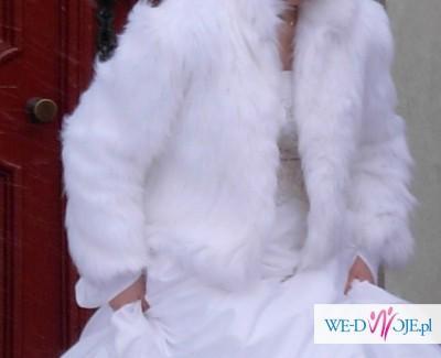 c1621085e4 Sprzedam Futerko Ślubne białe - Różności - ślub