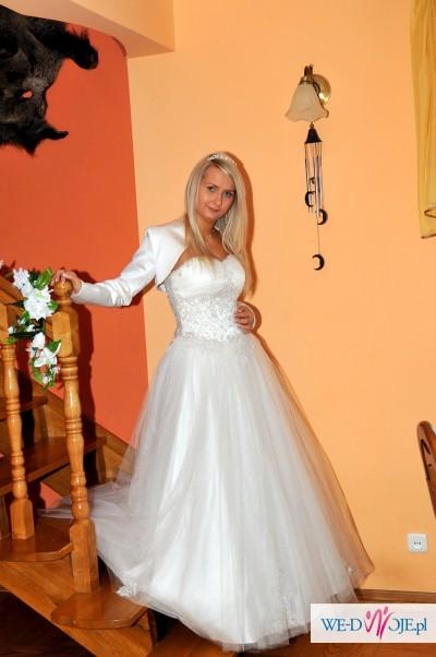 Sprzedam piękną Suknie Ślubną ! z Bolerkiem