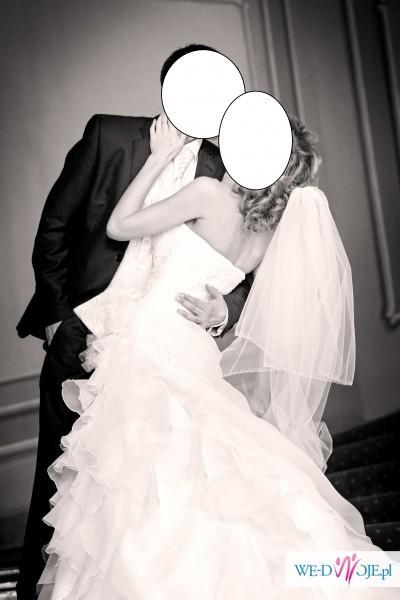 """Sprzedam przepiękną suknię ślubną """"Fantasia"""""""