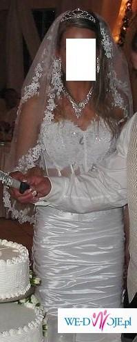 sprzedam sliczna suknie slubna farage frappe model 2008