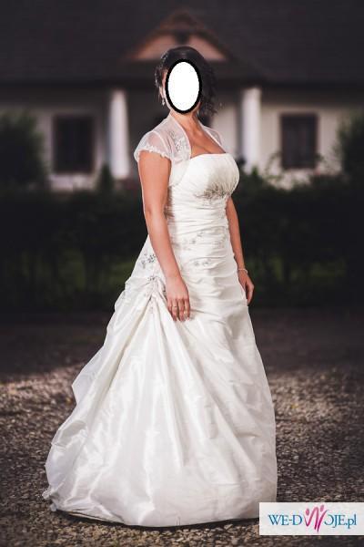 Sprzedam suknię ślubną Agnes 10053 romiar 38