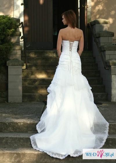 sprzedam suknie ślubną Aspera - tanio