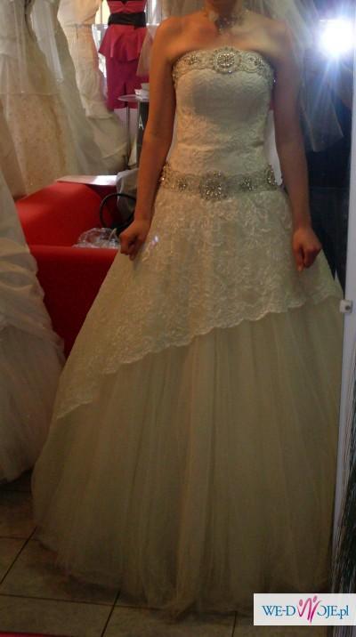 Sprzedam suknie ślubną dla ksieżniczki
