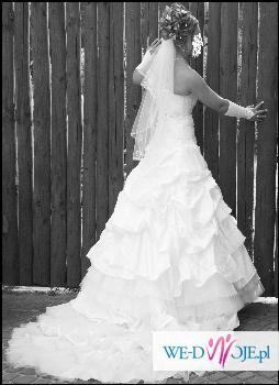 Sprzedam suknię ślubną emmi mariage-SECRET kolekcja 2008
