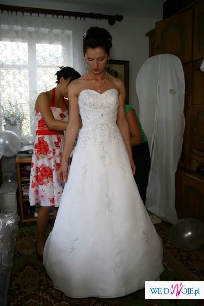 Sprzedam suknię ślubną firmy Mori Lee