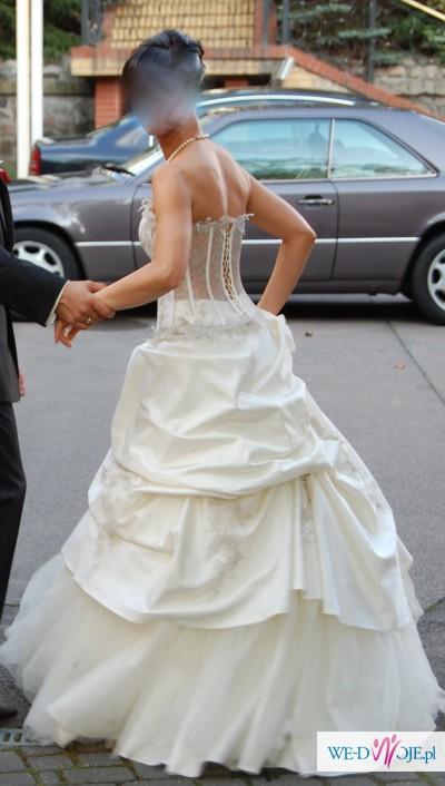 Sprzedam suknię ślubną francuskiej firmy Farage