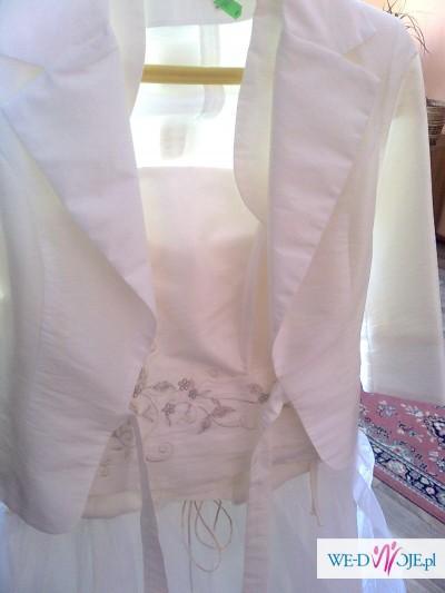 Sprzedam suknie ślubną+gratis dodatki