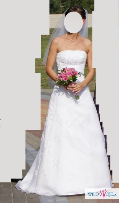 Sprzedam suknię ślubną, Olsztyn, rozmiar 34/36
