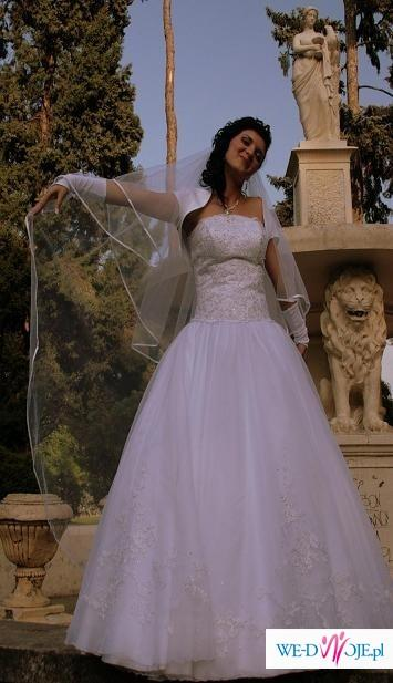 Sprzedam suknie ślubną,sliczna i swietna cena w Tarnowie.