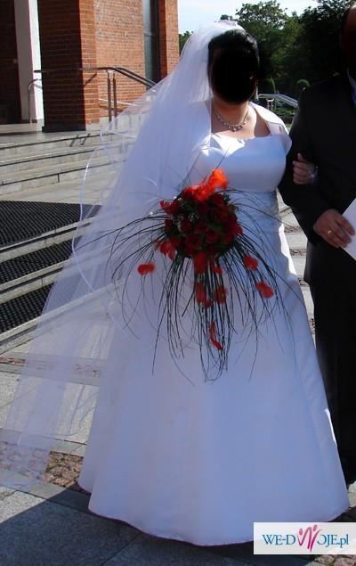 Sprzedam suknie ślubną XXL