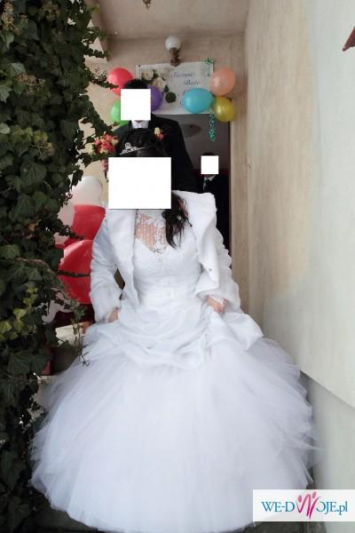 sprzedam suknie ślubna z gratisami i tanio !