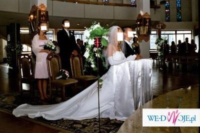 Sprzedam tanio firmową suknię ślubną