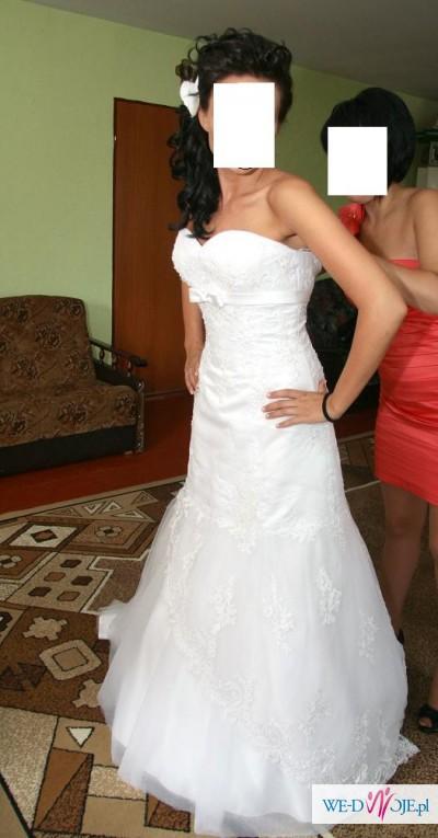 Sprzedam wyjątkową suknię ślubną