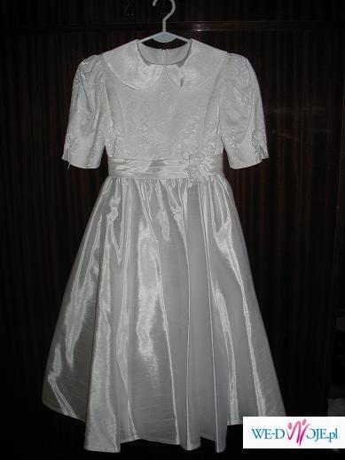 46b8e4b195 Sukienka Komunijna - Ubranka komunijne - Zdjęcie 1 - Ogłoszenie ...