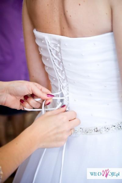 sukna ślubna -sprzedam
